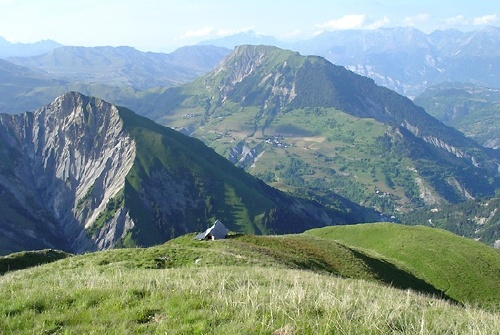 Chanin et le Mont Charvin