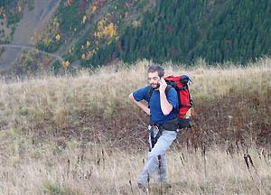 Téléphone en montagne