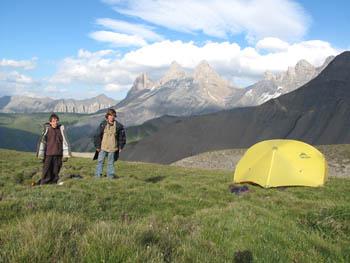 Tente de Montagne