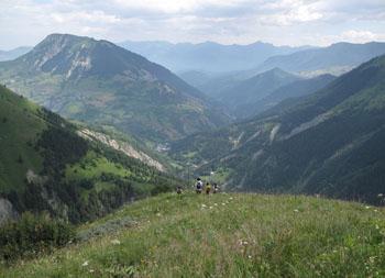 Descente de montagne