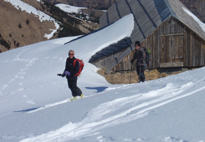 Chanin à Ski