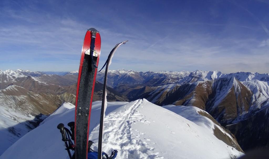 Ski à Chanin